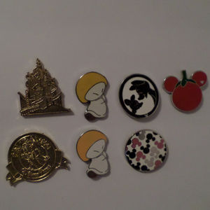 86 Disney pins and 2 necklaces for $100